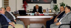 Bas-Çev Vakif Der Üyeleri Il Genel Meclis Baskani Bayir'i Ziyaret Etti