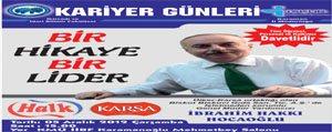 KMÜ'de Kariyer Günlerinin Konugu Ibrahim Hakki Hocaoglu