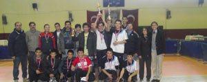 Gençler Masa Tenisi Turnuvasi Sona Erdi