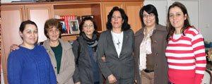 CHP Kadin Kollari Üyelerinden Gazetemize Ziyaret