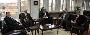 Enerji Federasyonu Genel Baskani Özbay Karaman'daydi