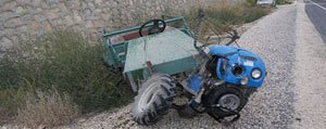 Karaman'da Çapa Motoru Devrildi: 1 Ölü