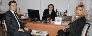 Ticaret Il Müdür Vekili Ari'dan Gazetemize Ziyaret