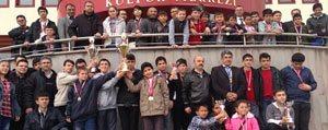 Okullar Arasi Satranç Turnuvasi Bitti