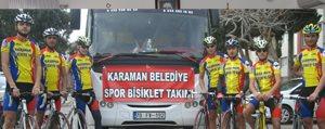 Belediye Spor Bisiklet Takimi Mugla Yolcusu