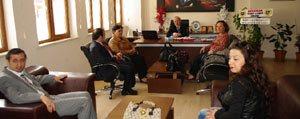 TSO Kadin Girisimciler Yönetiminden Bayir'a Ziyaret