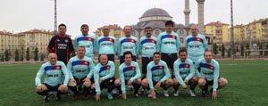 Veteranlar Hem Spor, Hemde Karaman'in Tanitimini Yapiyorlar
