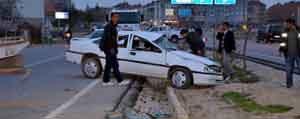 Kazada 3 Kisi Yaralandi