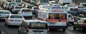 Ambulans Uyaniklari Bu Defa Yandi