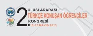 KMÜ'nün 2. Uluslararasi Türkçe Konusan Ögrenciler Kongresi Farkli Kültürleri Bulusturuyor