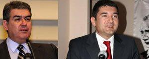 Prof. Dr. Süheyl Batum ve Prof. Dr. Çagri Erhan KMÜ ögrencileriyle bulusuyor