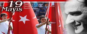 19 Mayis Atatürk'ü Anma Gençlik Ve Spor Bayrami Yarin Kutlanacak