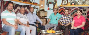 Bizbize Karaman Vakfi Üyeleri'nden Gazetemize Ziyaret