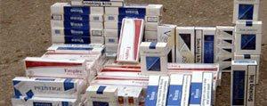 6 Bin Paket Kaçak Sigara Ele Geçirildi