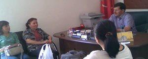 CHP'li Hanimlardan Zafer Haftasi Ziyaretleri
