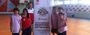 Karaman 12 DABO Uluslar Arasi Basketbol Egitim Kampindan Döndü