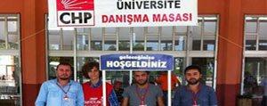 CHP Gençlik Kollari, Üniversiteli Ögrencilere Yardimci Oluyor