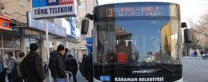 Yarin Belediye Otobüsleri Ücretsiz