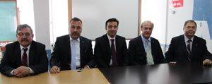GIB Eski Baskani Osman Arioglu'ndan, SMMM Odasina Ziyaret