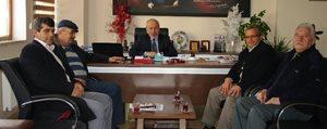 Pazarcilar Odasi Baskani Yilmaz'dan Bayir'a Ziyaret