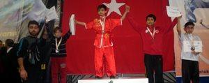 Wushu'da Sporcularimizdan Büyük Basari