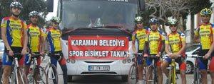 Bisikletçilerimiz Mersin Yolcusu