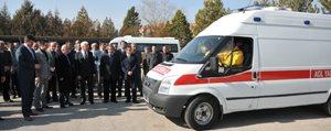 Il Özel Idaresi'den Saglik Müdürlügüne Tam Donanimli Ambulans