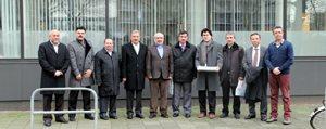 Rektör Gökmen'den Rotterdam Erasmus Üniversitesi'ne Ziyaret