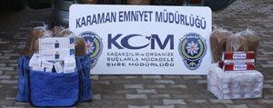 Karaman'da Kaçak Sigara Ve Tütün Operasyonu