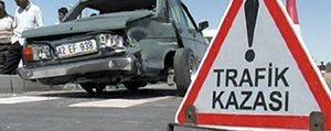 Trafik Kazasi'nda Iki Kisi Yaralandi