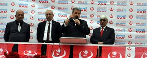 BBP Lideri Destici, Karaman'da