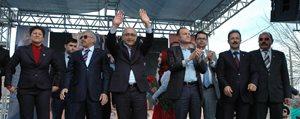 Bakan Elvan, Karaman'da Seçim Çalismalarini Sürdürdü