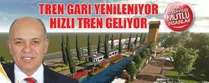 Çaliskan: Karaman Modern Bir Tren Gari'na Kavusacak
