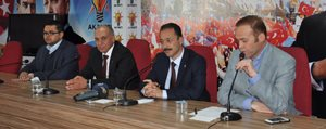 Karaman'da Ak Parti Seçim Sonucunu Degerlendirdi