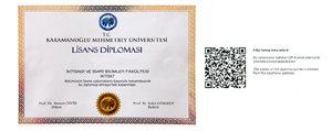 KMÜ'de Karekodlu Diploma Uygulamasi