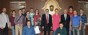 Avrupali Proje Ortaklarindan Sultanoglu'na Ziyaret