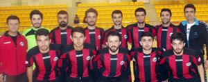 KMÜ Futsal Takimi Sampiyon Oldu