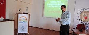 Karaman'da Çiftçilere Proje Tanitildi
