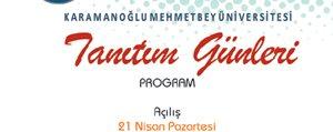 KMÜ'de 'Tanitim Günleri' Düzenlenecek