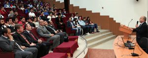 KMÜ'de 'Insan Ve Spor' Konferansi