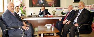 Il Genel Meclis Baskanina Hayirli Olsun Ziyaretleri Devam Ediyor