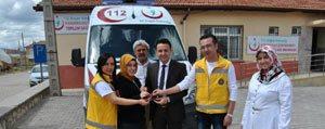 Kazimkarabekir 112 Istasyonuna Yeni Ambulans