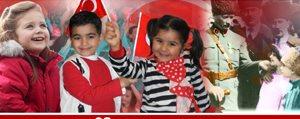 23 Nisan Ulusal Egemenlik ve Çocuk Bayrami Kutlama Mesajlari