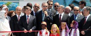 Basbakan Erdogan Konya Bilim Merkezi'ni Açti