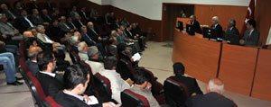 Karaman'da Muhtarlara Hizmetiçi Egitim Verildi