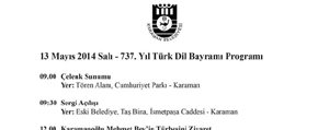 737. Türk Dil Bayrami Programi Belli Oldu