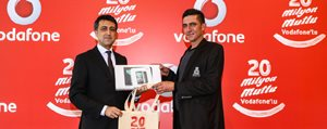 Vodafone'un 20 Milyonuncu Abonesi Karaman'dan