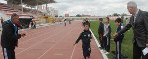 Minikler Atletizm Egitim Merkezi'ne Kostu