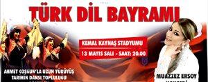 737. Türk Dil Bayrami Basliyor