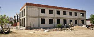 Karaman`da Yeni Itfaiye Binasinda Çalismalar Sürüyor